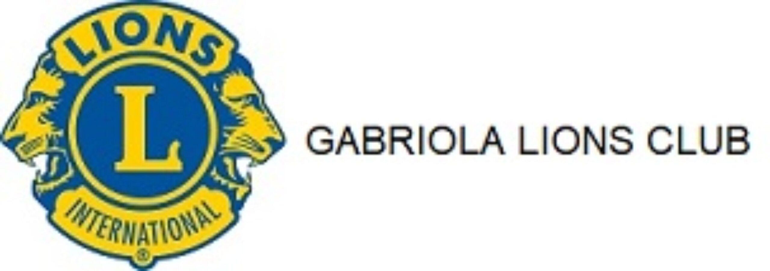 gabriola lions club logo